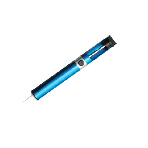 Оловоотсос (экстрактор припоя) металлический тип 4 цвет Metall Blue