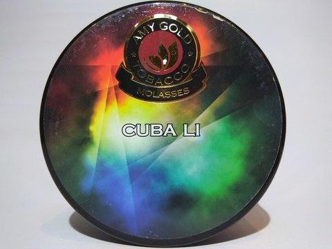 Табак для кальяна AMY GOLD Cuba Li 200 gr