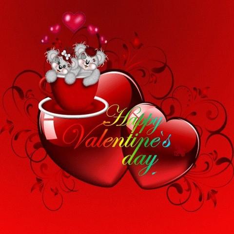 Печать на вафельной бумаге, День Влюбленных 44