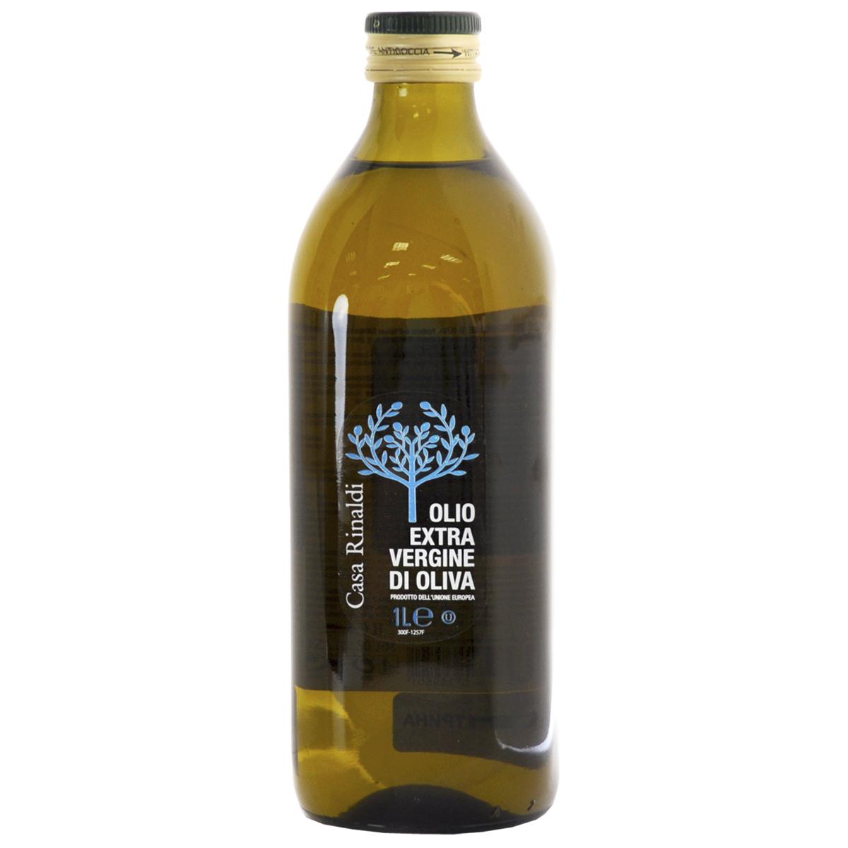 Масло Casa Rinaldi оливковое нерафинированное фильтрованное Extra Virgine 1 л