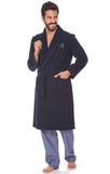 Шерстяной мужской халат c кашемиром B&B