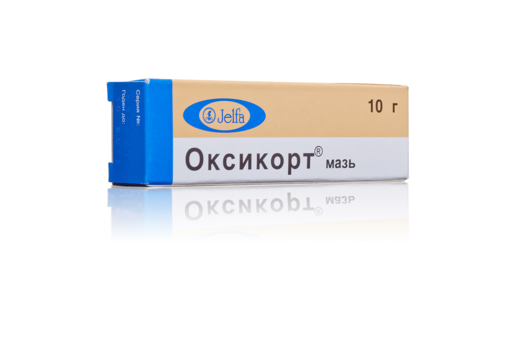 Оксикорт мазь 10 г.