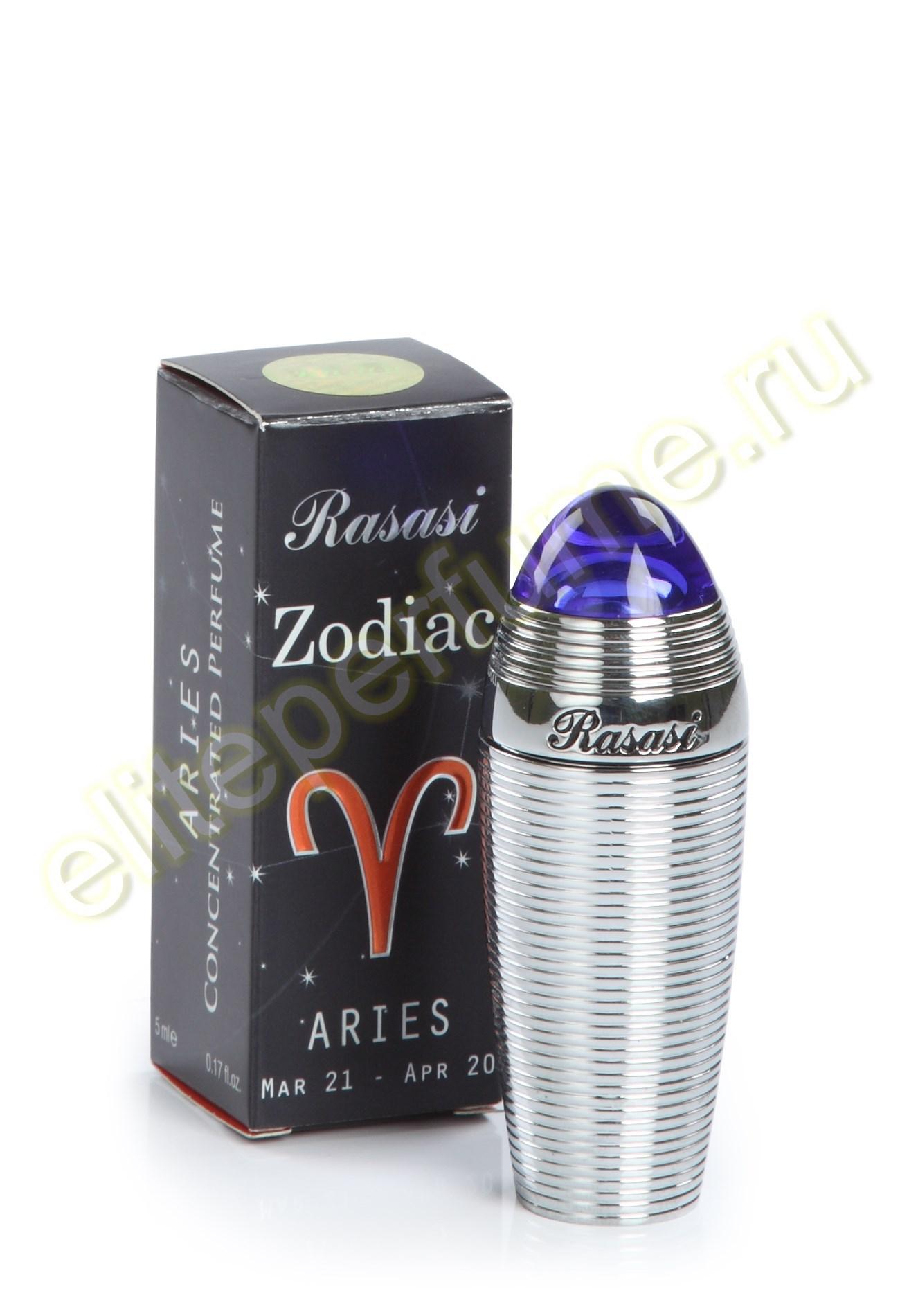 Зодиак Овен Zodiac Aries 5 мл арабские масляные духи от Расаси Rasasi Perfumes