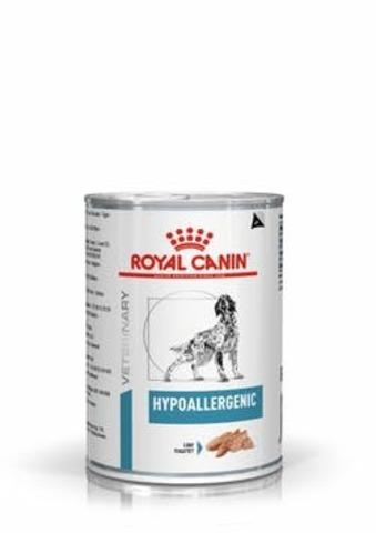 Royal Canin Hipoallergenic консервы для собак при пищевой аллергии 400г
