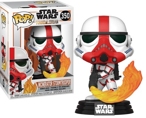 Star Wars Incinerator Stormtrooper Funko Pop! || Штурмовик
