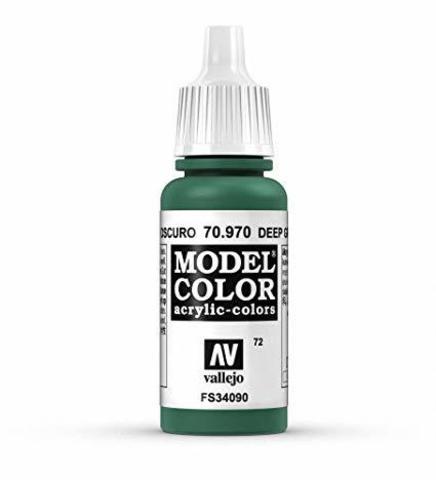 Model Color Deep Green 17 ml.