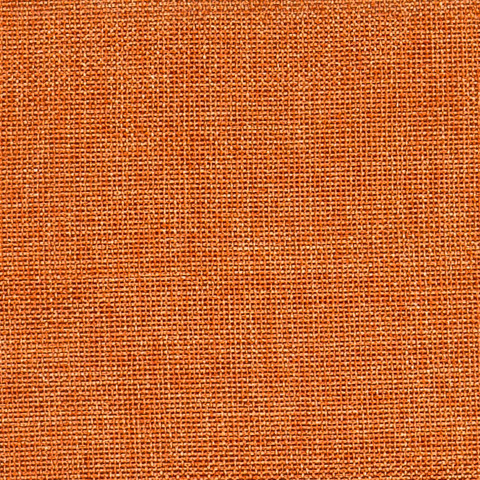 Портьерная ткань Бергамо рогожка оранжевый