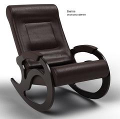 Кресло-качалка Вилла Экокожа