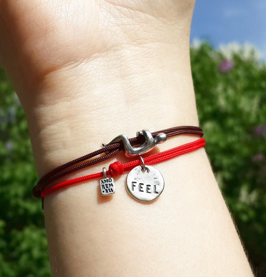Hug bracelet, sterling silver
