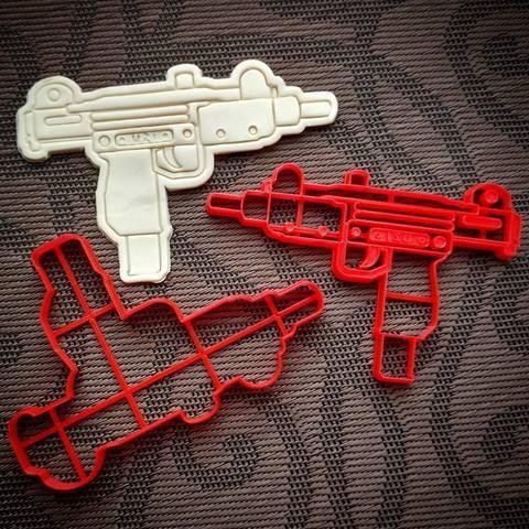 Пистолет Узи
