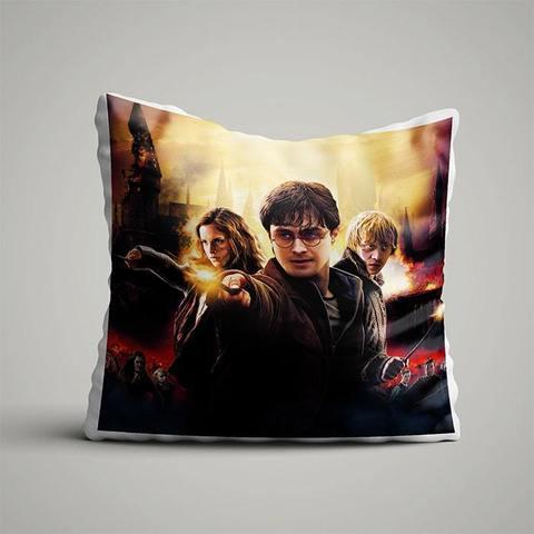 Подушка с Гарри, Роном и Гермионой