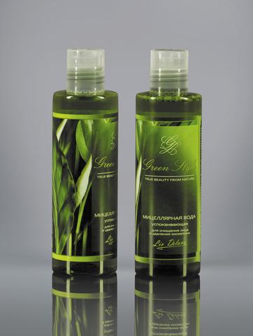 Liv delano Green Style Мицеллярная вода успокаивающая для очищения лица и удаления косметики 200мл