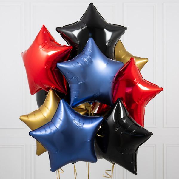 """Композиции Букет из шаров в форме звезд """"Бэтмен"""" web-res-pirate-inflated-10-stars-1_2.jpg"""