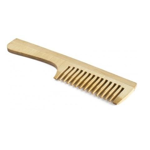 Расчёска с ручкой деревянная,большая
