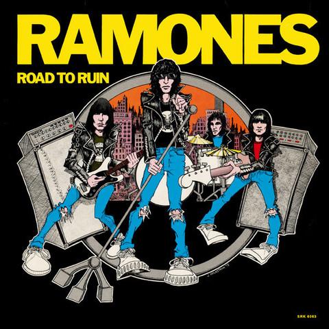 Виниловая пластинка. Ramones – Road To Ruin