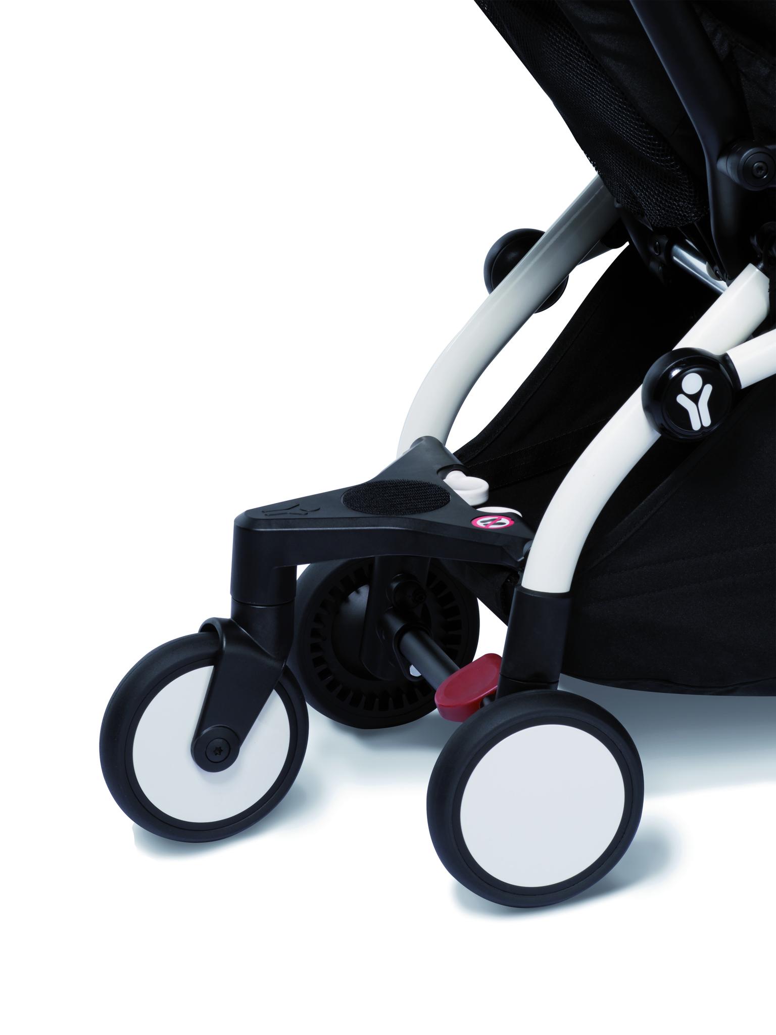 Сумка для коляски BabyZen YOYO+ Bag с колесом платформой Peppermint Мятный