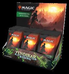 Дисплей Set Booster'ов выпуска «Zendikar Rising» (на английском)