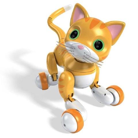 Интерактивный Кот Вискерс Оранжевый