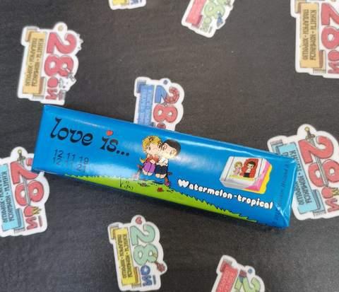Жевательная конфета Love Is (Арбуз-Тропик)