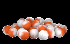 Бойлы насад. плав. двух цв. Sonik Baits SCOPEX-ORANGE Fluo Pop-ups 14мм 90мл