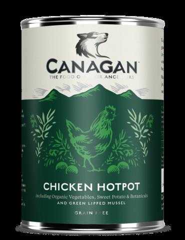 Консервы Canagan с куриным рагу для собак