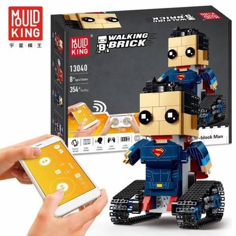 Конструктор Mould King 13040 Walking Brick 354 детали Superman