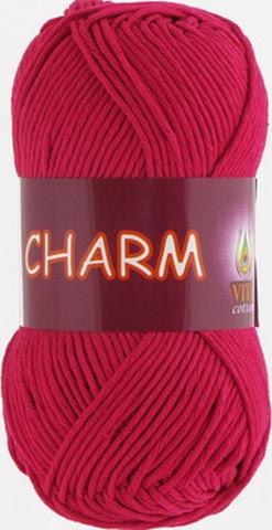 Пряжа Charm (Vita cotton) 4192 Красная ягода
