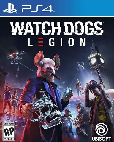 PS4 Watch Dogs: Legion (русская версия)