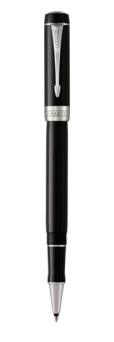 Ручка-роллер Parker Duofold Classic International Black CT, FBlack123