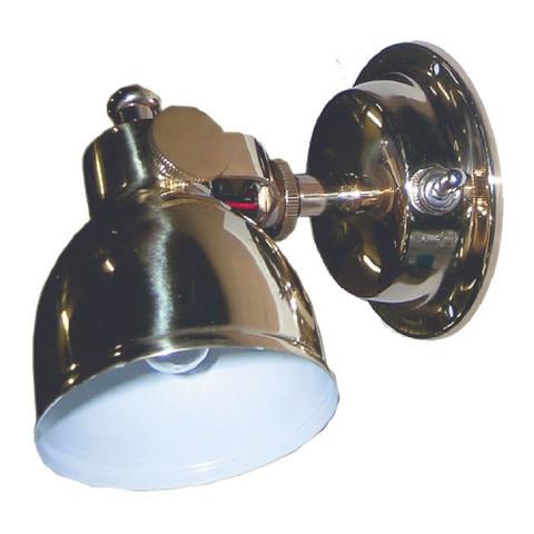 Светильник интерьерный поворотный, 75 х 114 х 152 мм, латунь