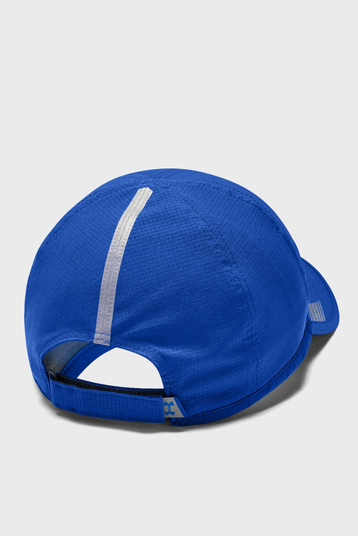 Мужская синяя кепка UA Launch AV Cap-BLU Under Armour