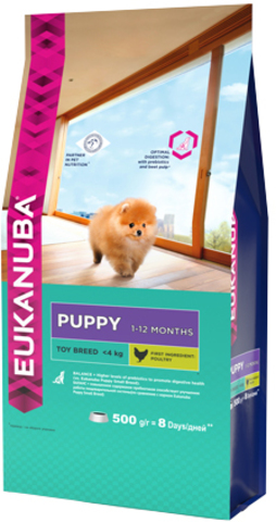Сухой корм Eukanuba Puppy Toy Breed