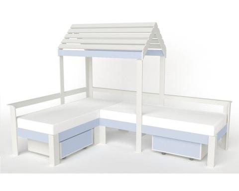 Кровать-домик АВАРА-5 правая