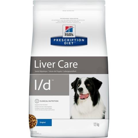 Hill's Prescription Diet L/D Liver Care при заболеваниях печени 12 кг