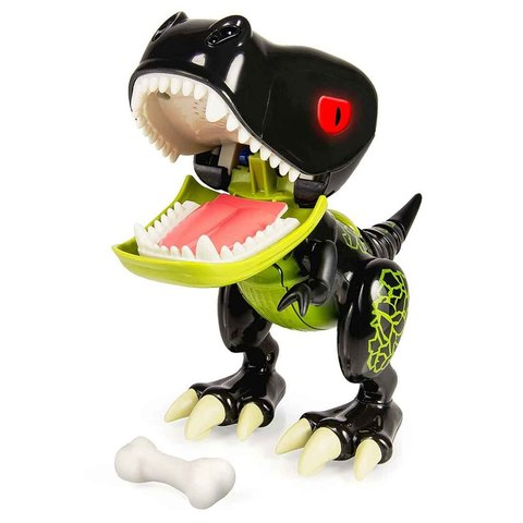 Интерактивный детёныш динозавра Черный ХайДжинкс