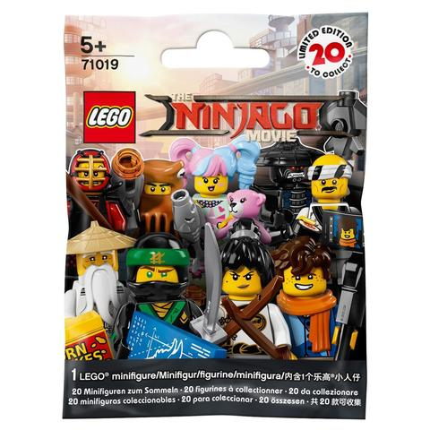 LEGO Minifigures: Минифигурки серия Ninjago Movie в ассортименте 71019 — Minifigure The LEGO Ninjago Movie Complete Random Set of 1 Minifigure — Лего Минифигурки