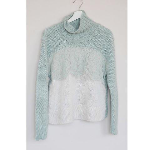 Описание MINT Sweater (автор Лена Родина)