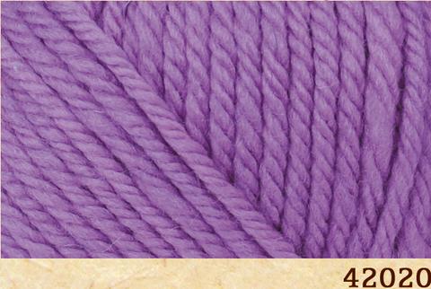 Пряжа FibraNatura Lima 42020 фиолетовый