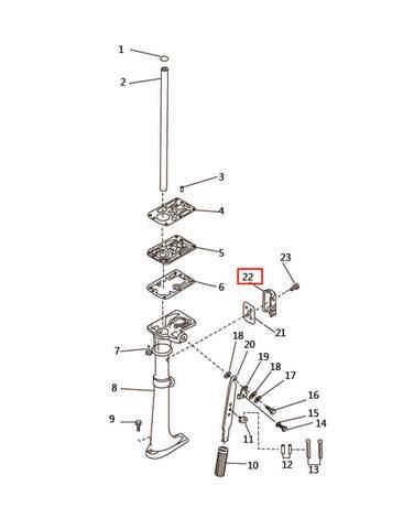 Крышка   для лодочного мотора T2,5 SEA-PRO (7-22)