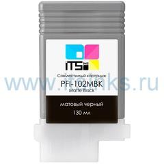 Картридж PFI-102MBK 130 мл