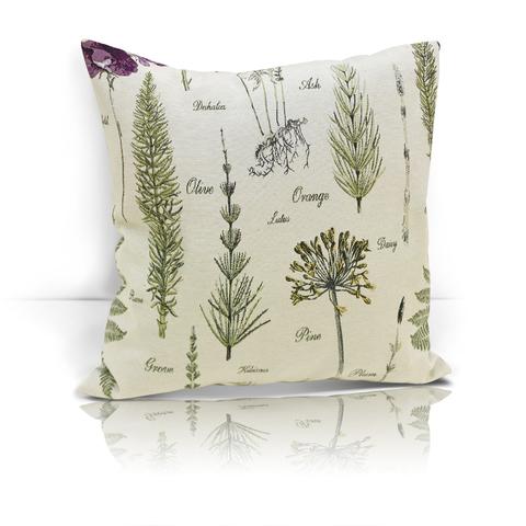 Подушка декоративная Ботаник