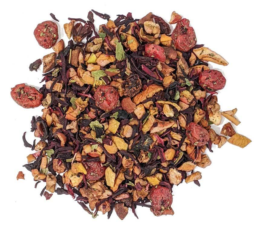 """Фруктовый, ягодный чай """"Вишневый пунш"""" чай фруктовый ароматизированный, 100 гр Vishnya-tea.jpg"""