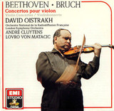 David Oistrach, Orchestre National De France, The London Symphony Orchestra, Andre Cluytens, Lovro Von Matacic / Beethoven, Bruch: Concertos Pour Violon (CD)