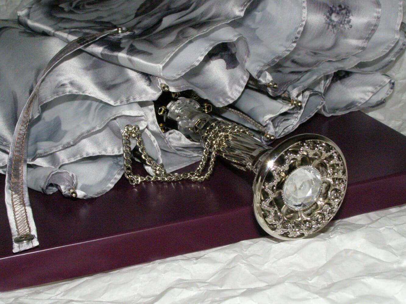 Зонт женский складной Pasotti 257-9-P12 Rose