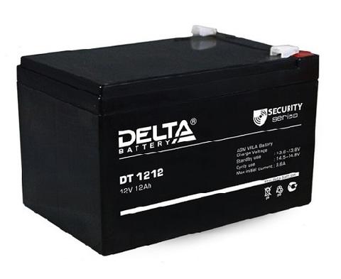 DT 1212 аккумулятор 12В/12Ач Delta