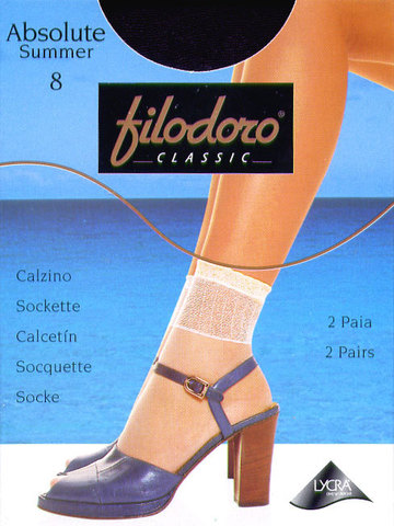Носки Absolute Summer 8 (2 пары) Filodoro