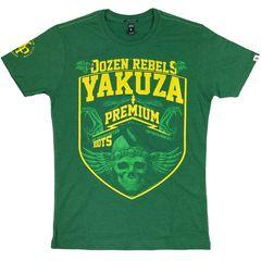 Футболка зеленая Yakuza Premium 2419