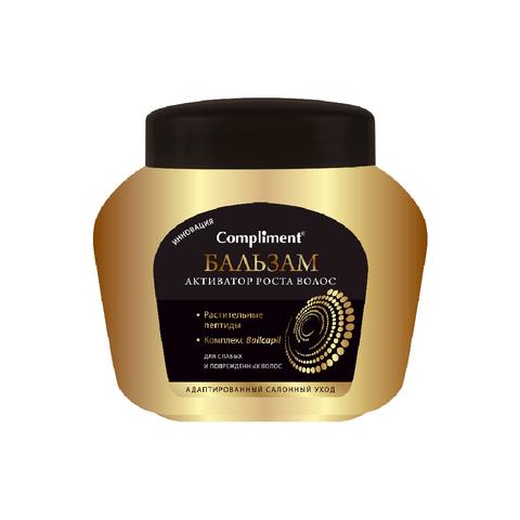 Compliment Бальзам  активатор роста Для слабых и поврежденных волос