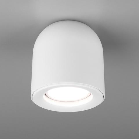 Светильник накладной белый DLN116 GU10