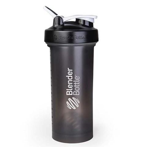 BlenderBottle Pro45, 1330 мл Большой Шейкер с Шариком-Пружиной черный